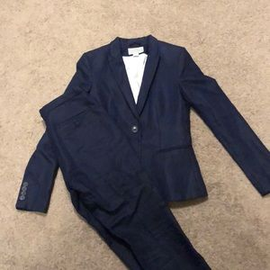 Navy blue suit from H&M